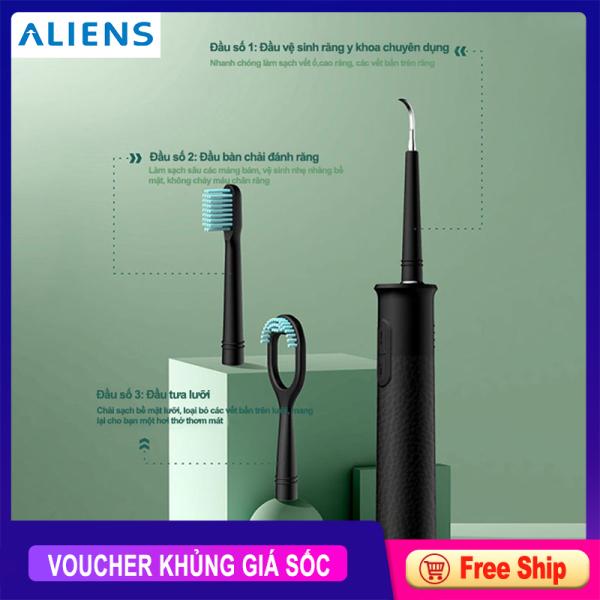 Máy làm sạch răng SK01, máy làm sạch răng tự động thông minh, 3 trong 1,vệ sinh răng miệng giá rẻ