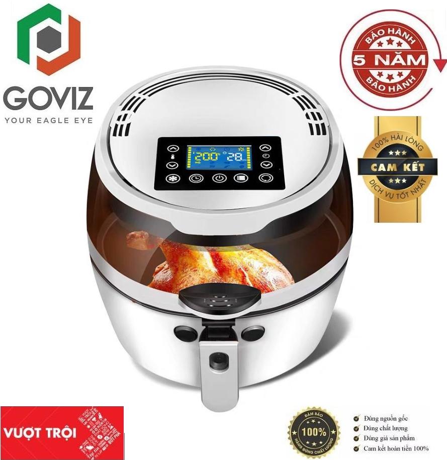 ( BẢO HÀNH 5 NĂM) Nồi Chiên Nướng không dầu Goviz perfect nine shield 8 lít dung tích khổng lồ công nghệ mới nhất - siêu tiện dụng nấu nướng trở lên dễ dàng hơn bao giờ hết