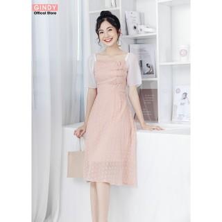 Váy nữ GINDY thiết kế cách tân phong cách tiểu thư ulzzang hàng thiết kế (hàng loại 1) V10053 thumbnail