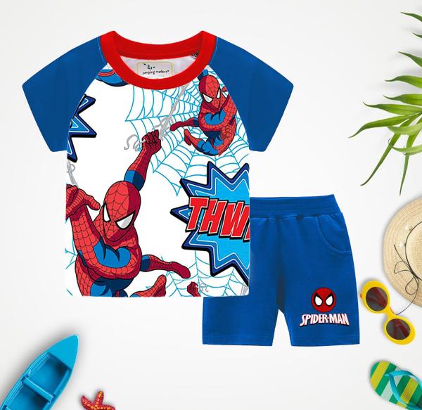 Đồ bộ cho bé mẫu người nhện