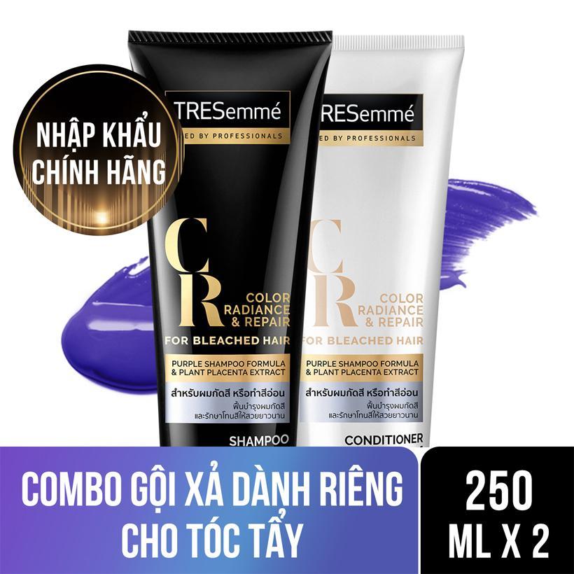 Combo dành cho tóc tẩy Dầu gội Tresemme 250ml và Kem xả Tresemme 250ml Nhật Bản