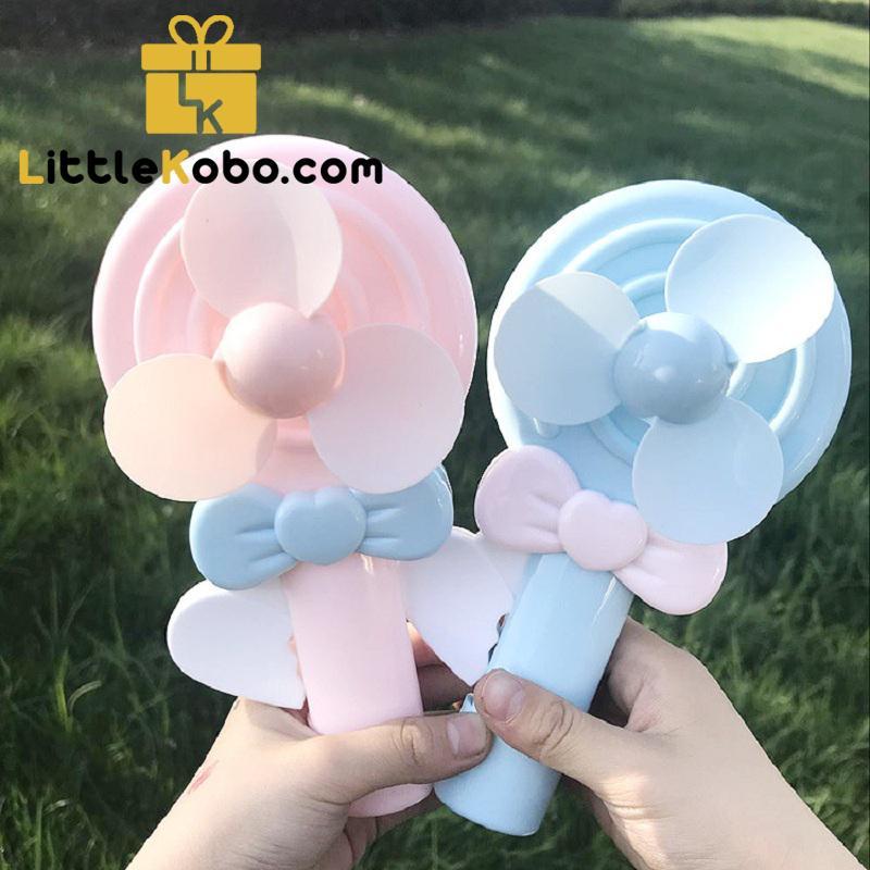 [Rẻ Vô Địch] Quạt Mini Du Lịch Cầm Tay Cute