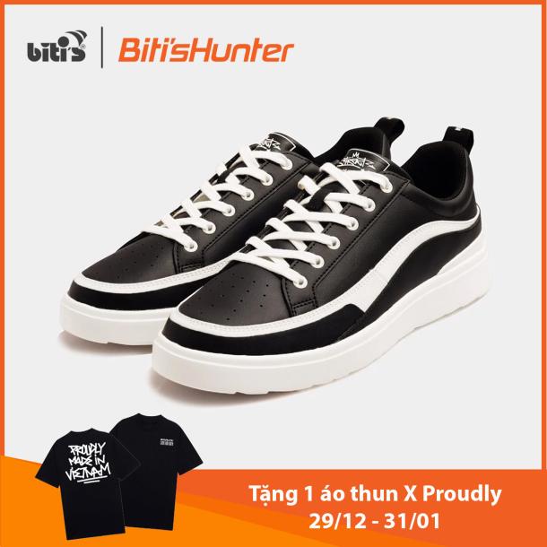 [TẶNG 1 ÁO THUN HUNTER X PROUDLY TỪ 29/12 - 31/01] Giày Thể Thao Nữ Bitis Hunter Street Americano DSWH03700DEN (Đen) giá rẻ