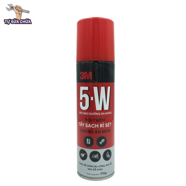 Dầu bảo dưỡng, chống rỉ sét và bôi trơn 3M 5-W