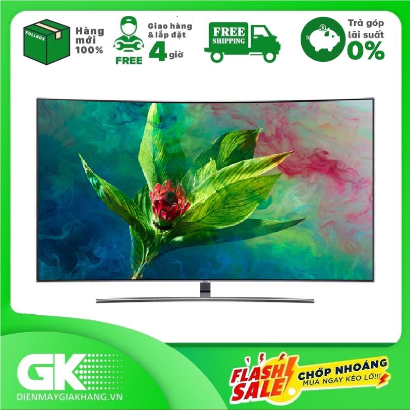 Bảng giá TRẢ GÓP 0% - Smart Tivi màn hình cong Samsung 4K QLED 65 inch 65Q8CNA - Bảo hành 2 năm. Giao hàng & lắp đặt trong 4 giờ