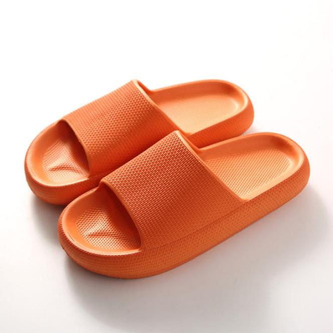 Dép quai ngang unisex thời trang bánh mỳ độn đế 5cm siêu êm chống nước chống trơn trượt đi trong nhà tắm TGG68-65 giá rẻ