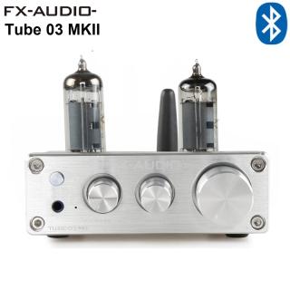 Bộ Preamplifier FX-AUDIO TUBE-03 MKII Bản Nâng Cấp Dùng Bóng 6K4 Chipset ESS9023 Công Nghệ Bluetooth 5.0 HIFI Audio Treble Bass Adjustment Pre-amps DC12V thumbnail