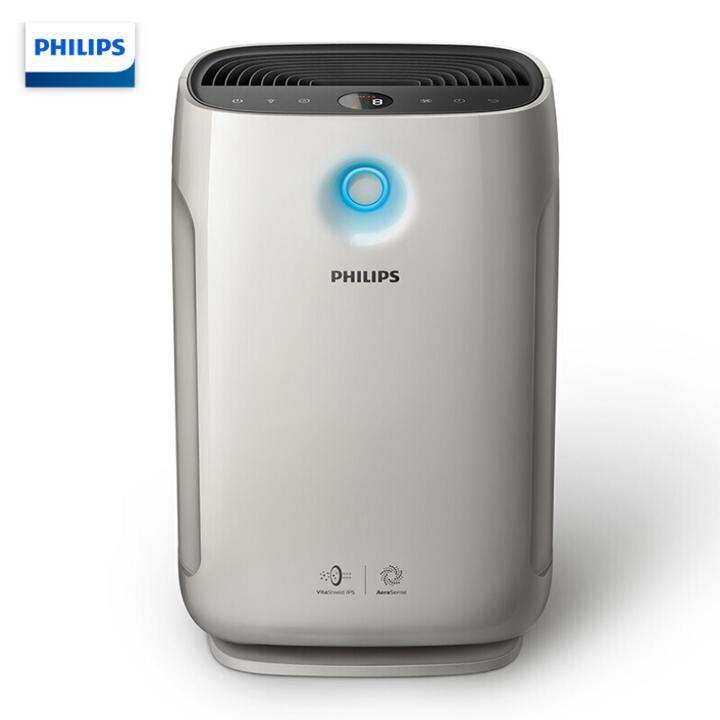 Máy lọc không khí cao cấp nhãn hiệu Philips AC2878 tích hợp cảm biến chất lượng không khí 4 màu, màn hình led hiển thị, công suất 56W