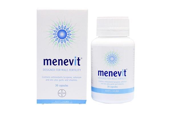 Viên uống Menevit của Úc cho nam giới 30 viên