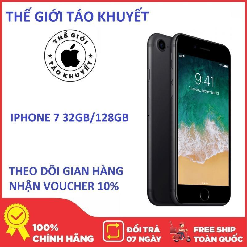 Điện thoại Apple IPHONE 7 32G/128G - 7 PLUS 32G/128G - Bản quốc tế - Bảo hành 12 Tháng - Chính Hiệu - Thế Giới Táo Khuyết