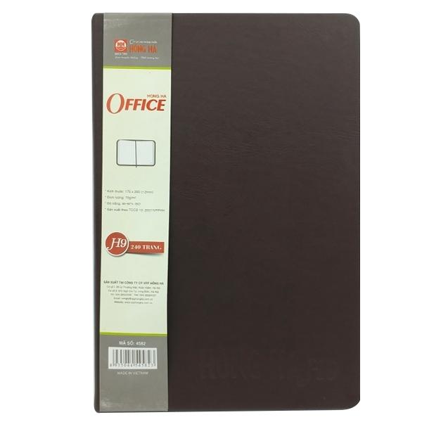 Mua Fahasa - Sổ Hồng Hà Office H9 4582 - 240 Trang - Màu Nâu
