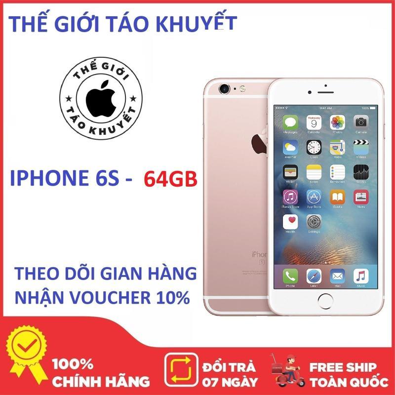 Điện thoại Apple Iphone 6S 64GB - RAM 2GB - Quốc tế - Giá rẻ - Chính Hang - Bảo hành 12T - Thế giới táo khuyết