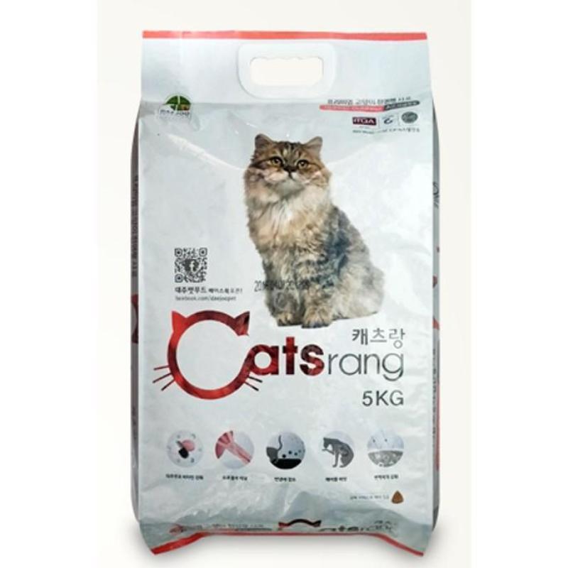 Thức Ăn Mèo Catsrang túi zip chia 1kg - Nhập Khẩu Từ Hàn Quốc