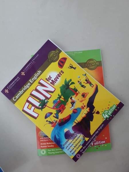 Fun for Mover students book bản 4th 2018 cho bé luyện thi