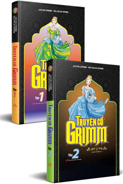 Truyện Cổ Grimm Trọn Bộ 2 Tập (Bìa cứng)
