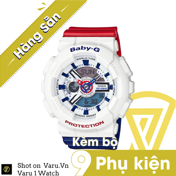 [Cao Cấp] Đồng hồ thể thao nam nữ G-Shock BA-110TRM-7A Full phụ kiện bán chạy