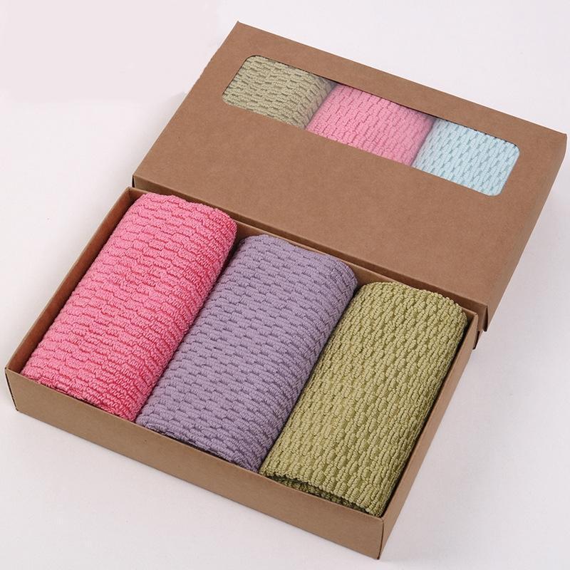 Hộp 3 khăn lau Microfiber