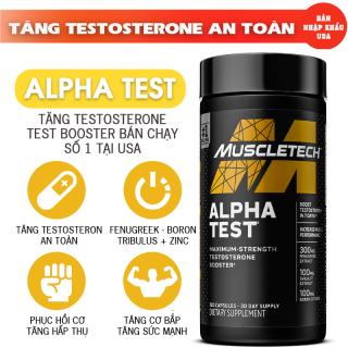 ALPHA TEST hỗ trợ tăng Testosterone an toàn cho nam giới [BẢN NHẬP KHẨU] thumbnail