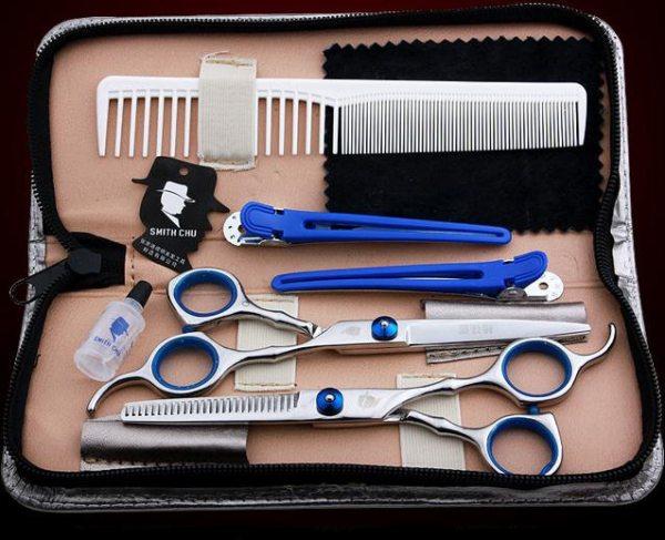 [HCM]Bộ Kéo Cắt Tóc Và Dụng Cụ Hỗ Trợ Smith Chu XK01