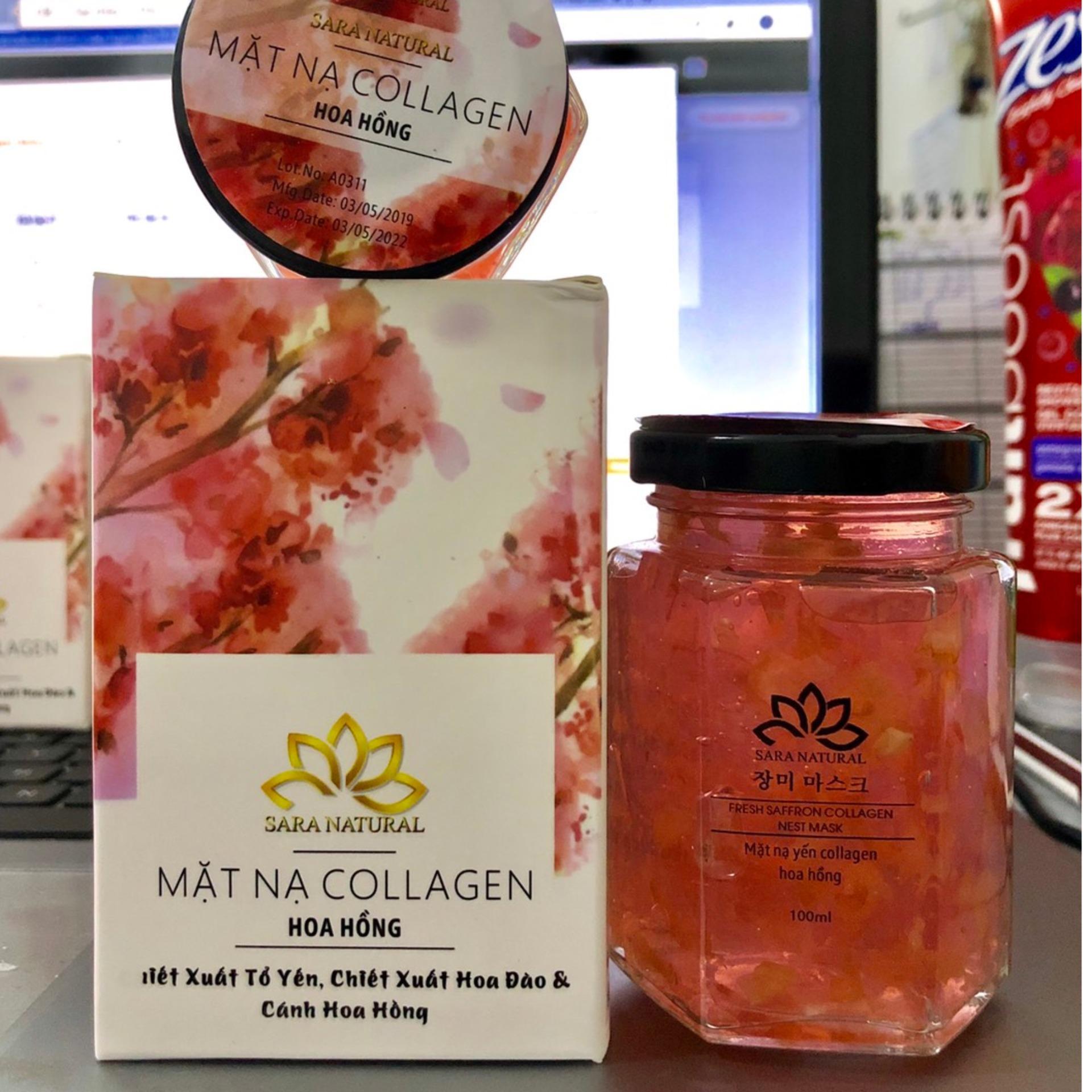 Mặt Nạ Ngủ Collagen 100ml - Hoa Hồng