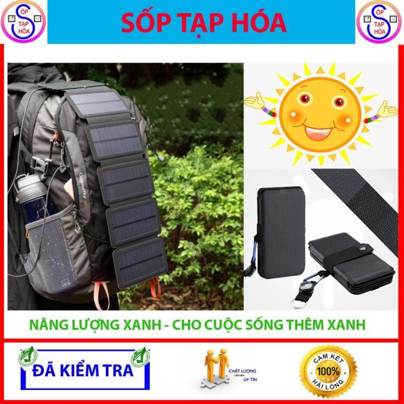 Pin năng lượng mặt trời Jettos kết hợp La bàn- 4 tấm Pin năng lượng mặt trời - Hàng xịn, không bán hàng dỏm - Năng lượng cho dã ngoại.