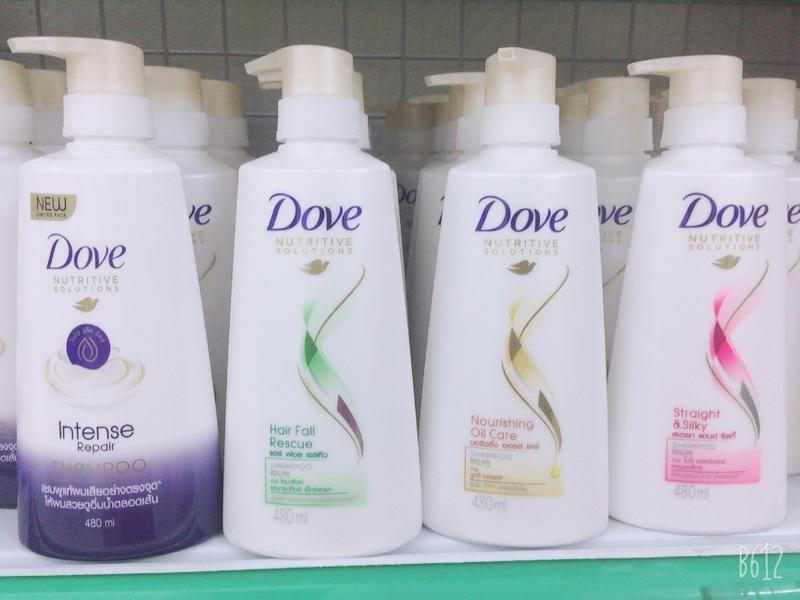 Dầu gộ( hoặc dầu xã ) Dove Thái Lan 480ml giá rẻ