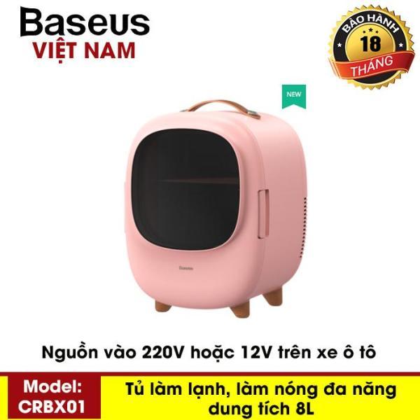 Bảng giá Tủ lạnh mini dung tích 8L, hai chế độ nóng / lạnh, sử dụng cho văn phòng, gia đình, dễ dàng mang đi du lịch, picnic - Thương hiệu Baseus - Phân phối bởi Baseus Vietnam Điện máy Pico
