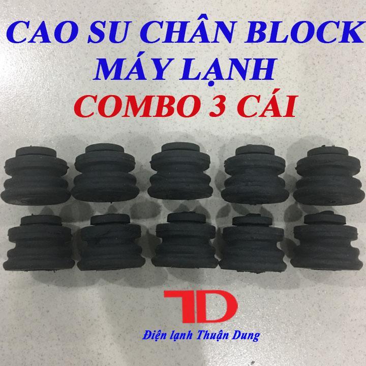 Combo 3 Cao Su Chân Block Máy Lạnh