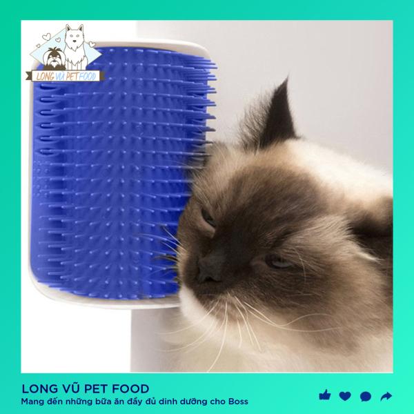 Lược chải lông gắn tường cho mèo - Long Vũ Pet Food