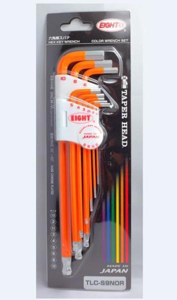 Bộ lục giác màu TLC-S9N Eight Nhật (Màu tím, xanh dương, xanh lá, vàng, cam, đỏ)