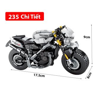 [Lấy mã giảm thêm 30%]Bộ đồ chơi lắp ráp Siêu xe đua chất liệu nhựa ABS an toàn LegoStyle thumbnail