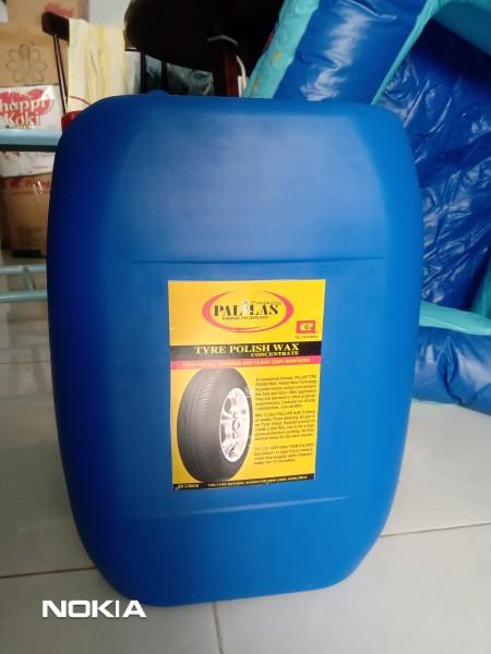 Bóng vỏ xe - Bóng lốp xe - dầu làm bóng lốp xe - Dung dịch làm bóng lốp xe - Wax bóng vỏ (lốp) xe Pallas Can 20 lít.