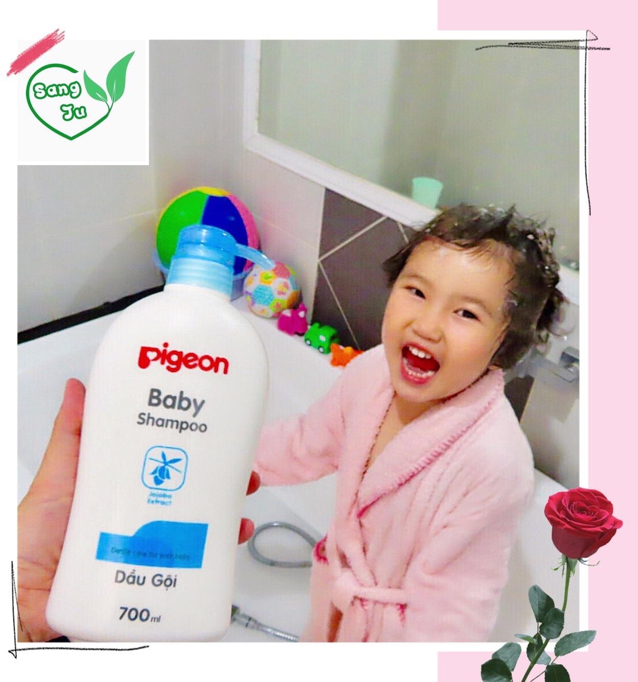 Dầu Gội em bé Pigeon 700ML - (HSD: 08/07/2020)