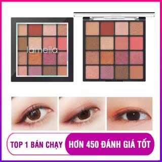 Bảng phấn mắt Lameila 16 màu long lanh siêu đẹp bảng màu mắt phấn trang điểm mắt nội địa Trung XP-PM091 thumbnail