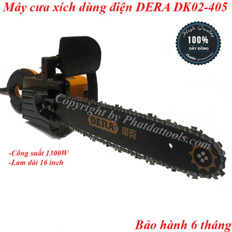 Máy cưa xích chạy điện DERA MODEL DK02-405-1300W