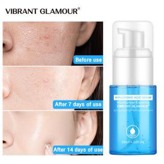Serum VIBRANT GLAMOR thành phần Hyaluronic Acid hỗ trợ thu nhỏ lỗ chân lông chống lão hóa làm sáng dưỡng ẩm cho da 30ml