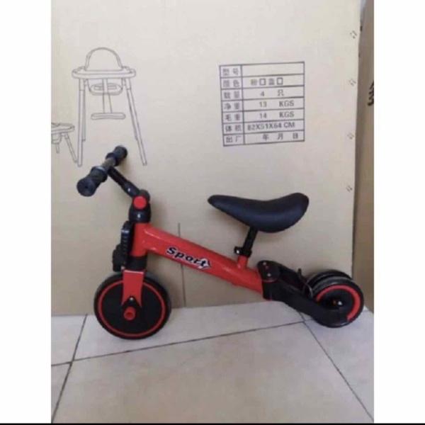 Mua Xe đạp trẻ em Xe đạp ba bánh gấp gọn - vừa là xe đạp vừa là xe chòi chân cho Bé