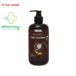 Dầu Gội Thái Dương 7 Thảo Dược giảm gàu, giảm rụng tóc và hói đầu - Thai Duong Shampoo 480ml thumbnail