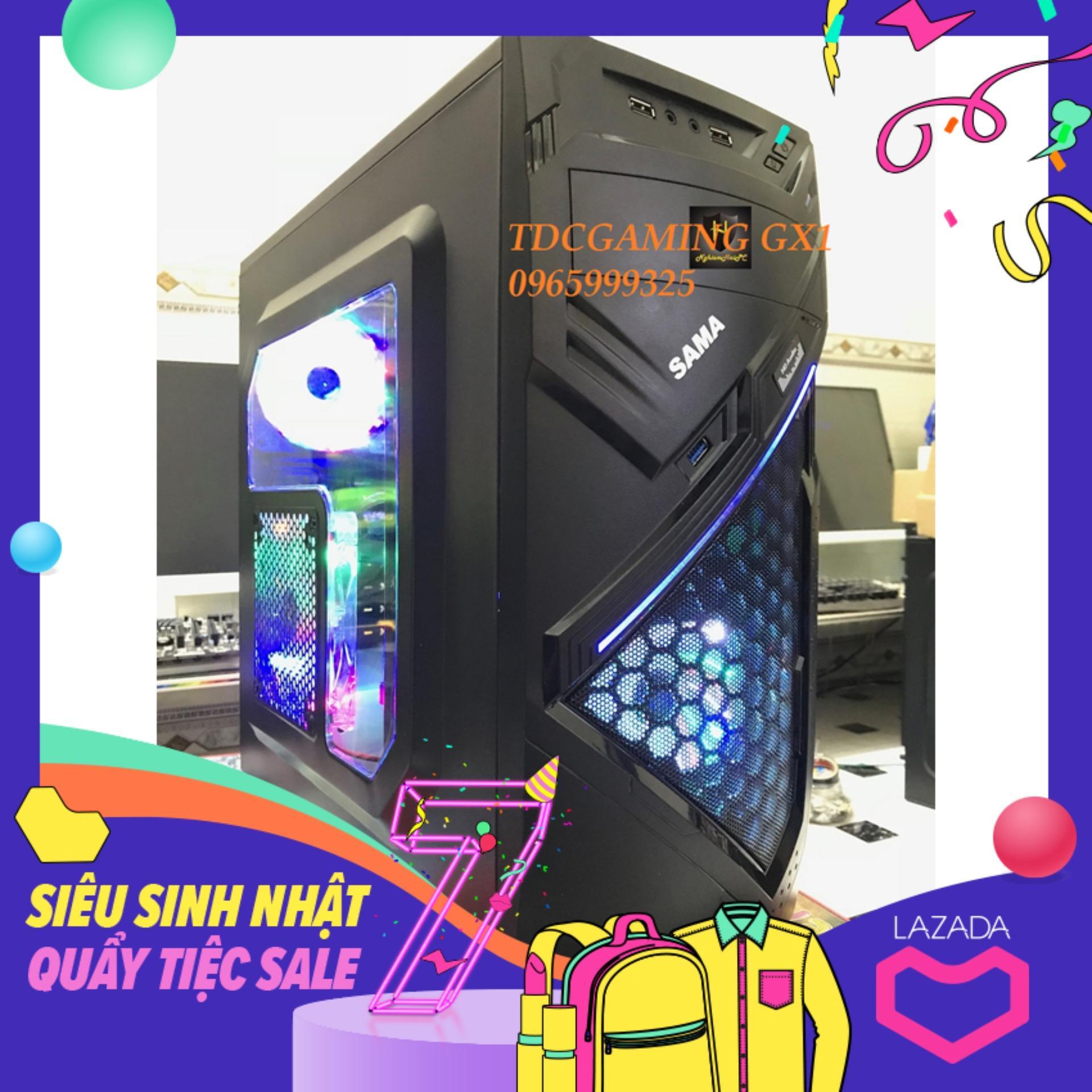 Máy tính chơi Game Intel Core i5 3470, Ram 8gb, Ổ cứng SSD 120gb và HDD 500gb , Card rời GTX 1050 (chuyên LOL, fifaonline 4, PUBG, Stream). Quà Tặng Nhật Bản
