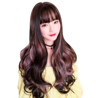 Tóc giả nữ Hàn Quốc kèm lưới T321 thumbnail