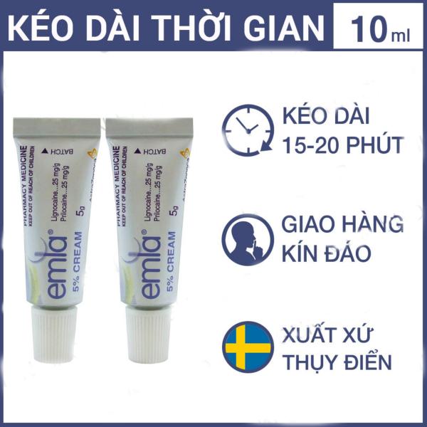 Bộ 2 Tinh Chất Chống Xuất Tinh Sớm Emla Cream 5%