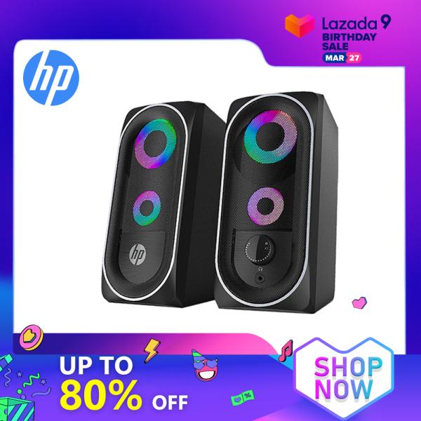 Bảng giá Loa Mini HP DHE6001 Đèn Chiếu Sáng Âm Trầm RGB Hiệu Ứng Hỗ Trợ USB Âm Thanh Mạnh Mẽ Khả Năng Tương Thích Thông Minh Điện Thoại Di Động Dành Cho Máy Tính Xách Tay Để Bàn TV Phong Vũ