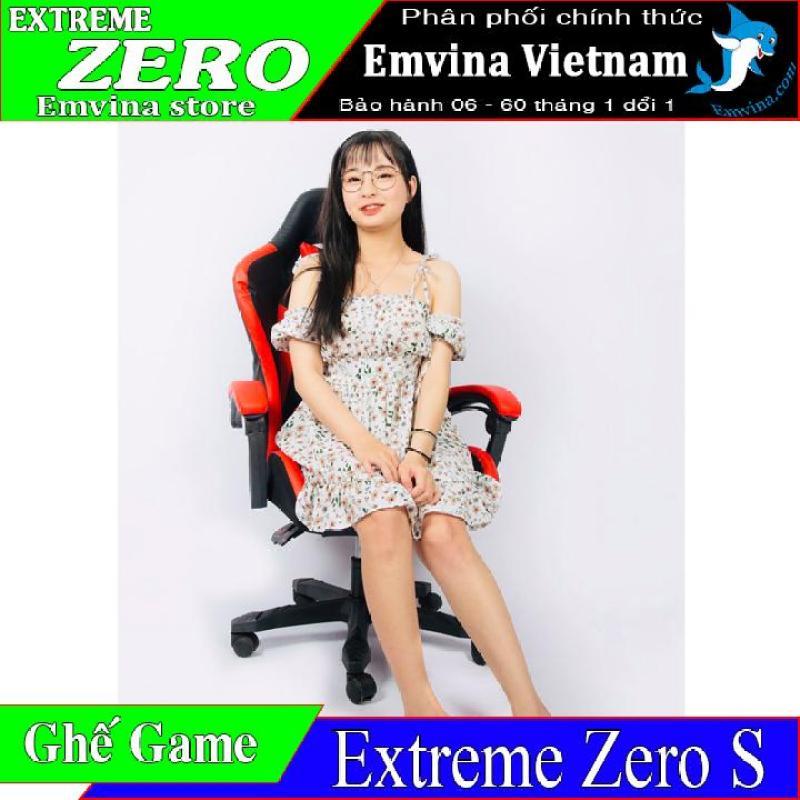 Ghế Chơi Game EXTREME ZERO S Vua Ghế Gaming Phân Khúc Dưới 2 Triệu Ghế Live Stream Video Game Văn Phòng Làm Việc Học Tập Giải Trí Chức Năng Nâng Hạ Cao Thấp Chân Xoay Ngã Lưng 150 Độ 2 Gối Tựa Emvina Vietnam giá rẻ