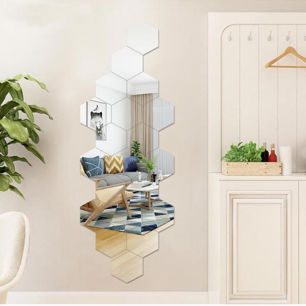 [SIÊU SALE KHỦNG] Gương dán tường, bộ 12 gương dán tường nhiều kích thước, kích cỡ 11x11,gương dán tường trang trí giá rẻ