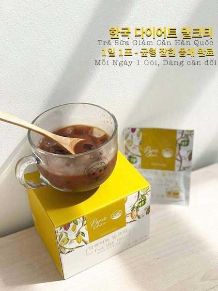 Trà Sữa Giảm Cân Genie Paris Choi Diet Milk Tea Hàn Quốc cao cấp