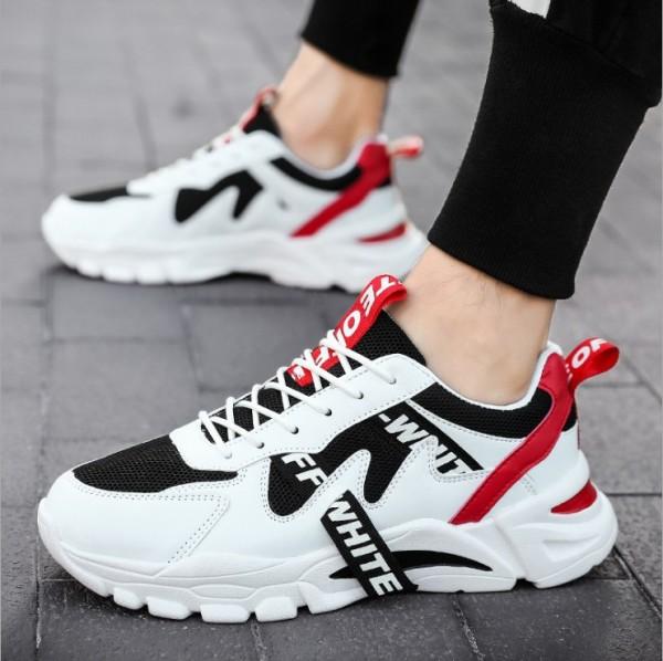 Giày Sneaker Nam Màu Trắng Giá Tốt Hiện Đại Trẻ Trung Năng Động Đi Học, Đi Chơi MINH HÀ - 328