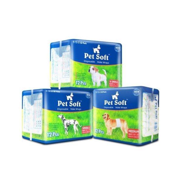 Bỉm Pet soft chó đực size XS