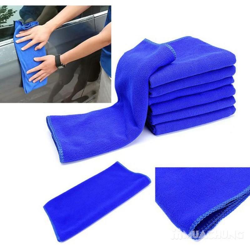 Khăn lau oto đa năng kích thước 30x70cm chất khăn Microfiber siêu mềm mịn thấm bám bụi cực tốt không làm cho xe bị xước sơn khi sử dụng thích họp cho mọi công việ chăm sóc xe hơi