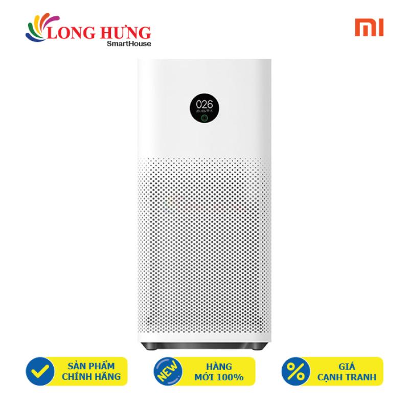 Máy lọc không khí Xiaomi Mi Air Purifier 3H FJY4031GL AC-M6-SC - Hàng chính hãng - Màng lọc HEPA loại bỏ bụi bẩn, cảm biến bằng lazer thông minh, hỗ trợ điều khiển bằng giọng nói /điện thoại
