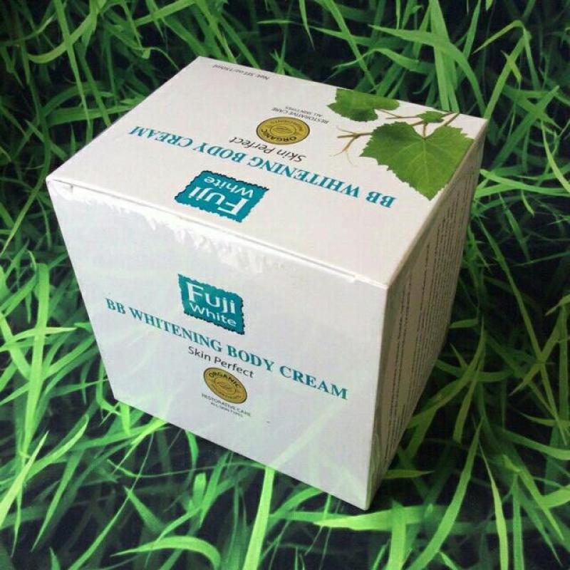 Kem dưỡng trắng chống nắng toàn thân Organic ( BB White Cream) Fuji White cao cấp